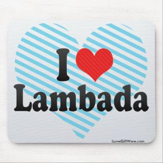 I Love Lambada Mousepads