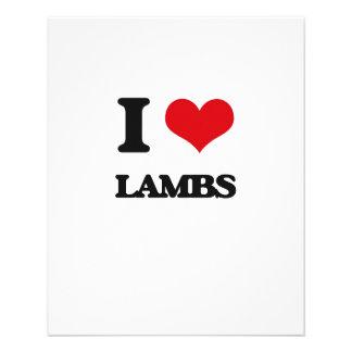 I Love Lambs Flyer