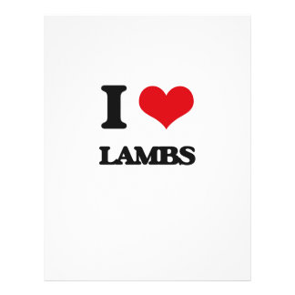I Love Lambs Flyers