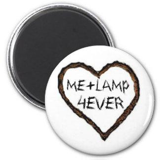I love lamp 2 inch round magnet