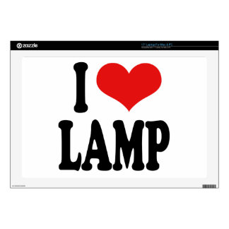 I Love Lamp Decals For Laptops