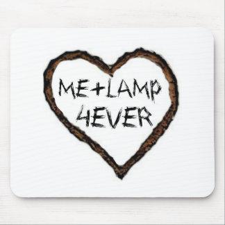 I love lamp mouse pad