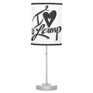 """I Love Lamp"" Table Lamp"