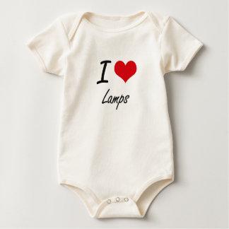 I Love Lamps Bodysuit