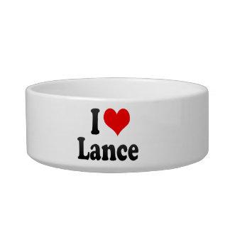 I love Lance Cat Bowls