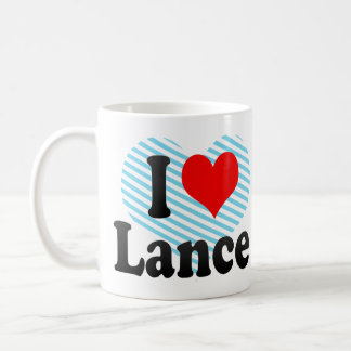 I love Lance Coffee Mug