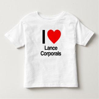 i love lance corporals toddler t-shirt