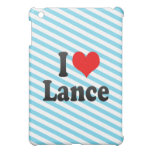 I love Lance iPad Mini Case