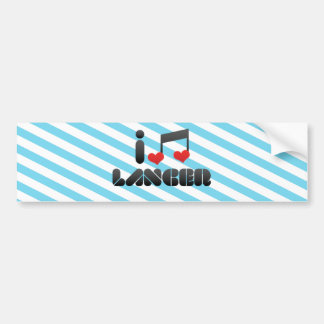 I Love Lancer Bumper Stickers
