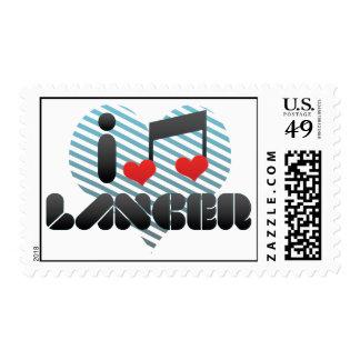 I Love Lancer Postage Stamps
