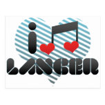 I Love Lancer Postcard