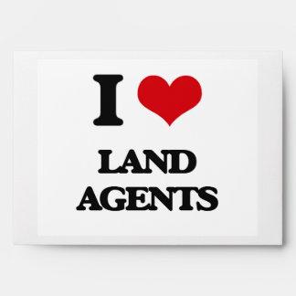 I love Land Agents Envelopes