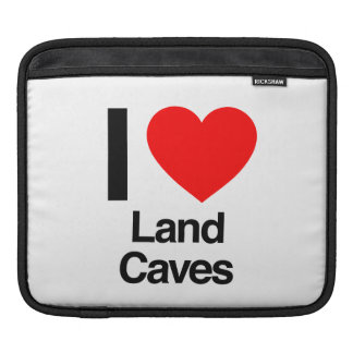 i love land caves sleeves for iPads