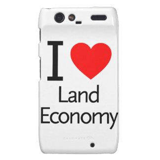 I Love Land Economy Droid RAZR Cover