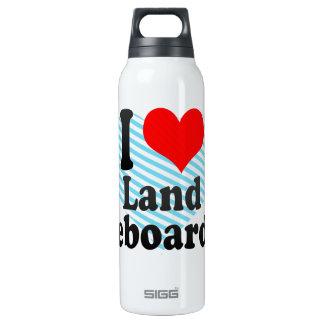 I love Land Kiteboarding Thermos Bottle