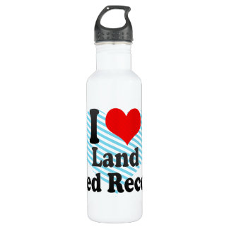 I love Land Speed Records Water Bottle