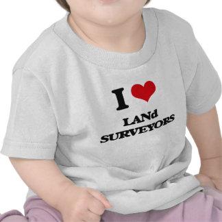 I love Land Surveyors T-shirt
