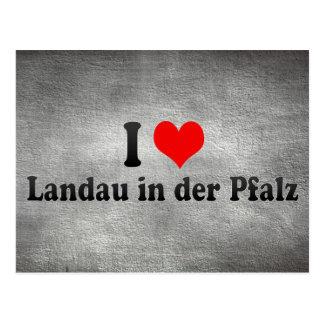 I Love Landau in der Pfalz, Germany Postcard