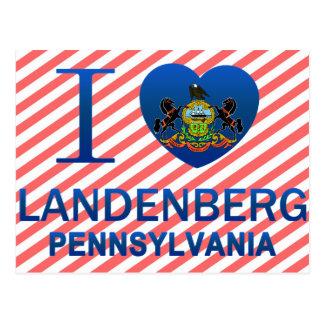 I Love Landenberg, PA Post Cards