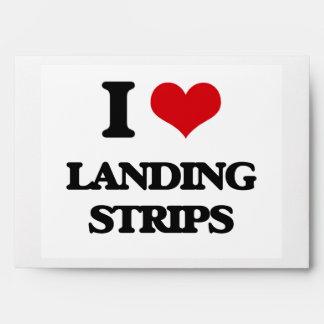 I Love Landing Strips Envelope