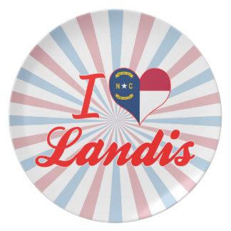 I Love Landis, North Carolina Plates