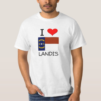 I Love Landis North Carolina Shirt