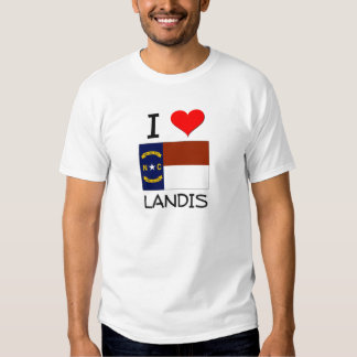 I Love Landis North Carolina Tees