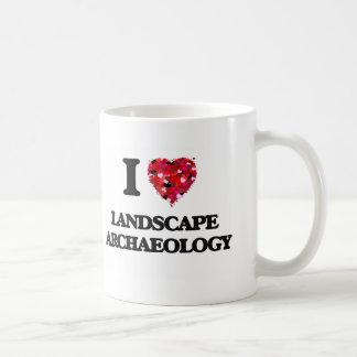 I Love Landscape Archaeology Classic White Coffee Mug