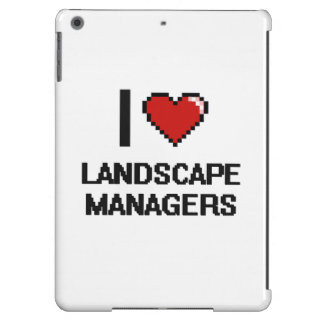 I love Landscape Managers iPad Air Covers