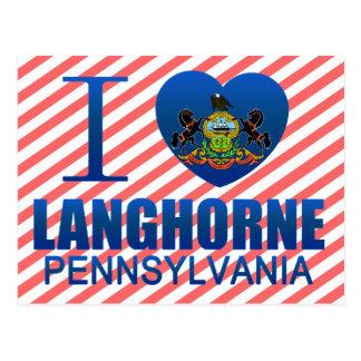 I Love Langhorne, PA Postcard
