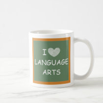 I Love Language Arts Coffee Mug