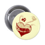 I love lantern flies pinback button