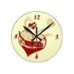 I love lantern flies wall clock