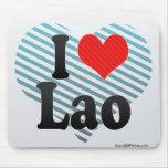 I Love Lao Mouse Pad