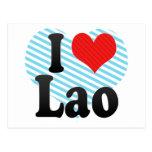 I Love Lao Postcard