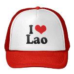 I Love Lao Trucker Hat