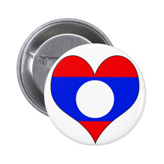 I Love Laos Buttons