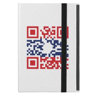 I Love Laos (Khoy Huk Lao) Flag QR Code | Lao Geek iPad Mini Covers