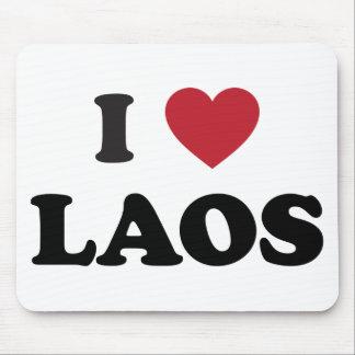 I Love Laos Mouse Pad