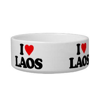 I LOVE LAOS CAT BOWLS
