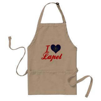 I Love Lapel, Indiana Adult Apron