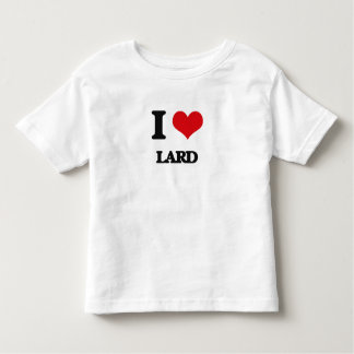 I Love Lard Tee Shirt