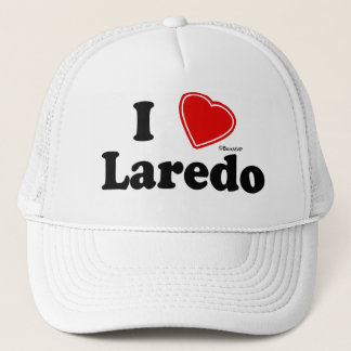 I Love Laredo Trucker Hat