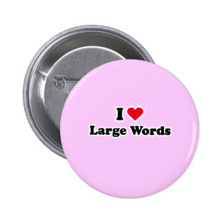 I love large words pins