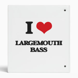 I love Largemouth Bass Binder