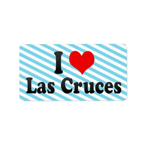 I Love Las Cruces, United States Personalized Address Labels
