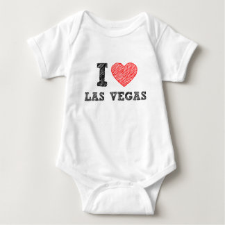I Love Las Vegas Baby Bodysuit