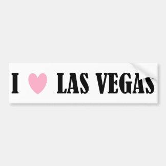 I Love Las Vegas Bumper Sticker