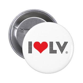 I Love Las Vegas 2 Inch Round Button