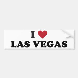 I Love Las Vegas Nevada Bumper Sticker